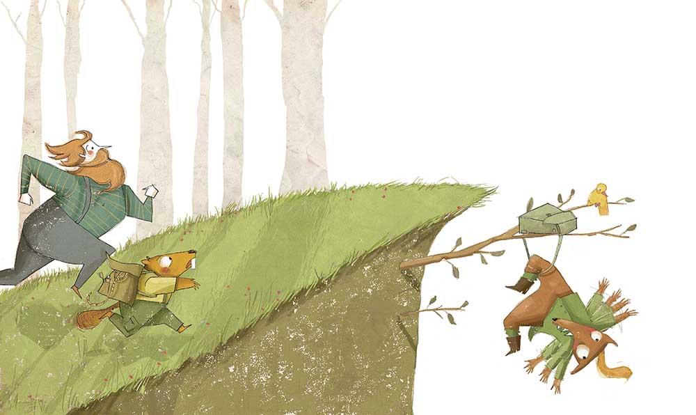 Il·lustració d'un conte infantil.