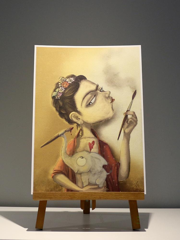 Print Frida