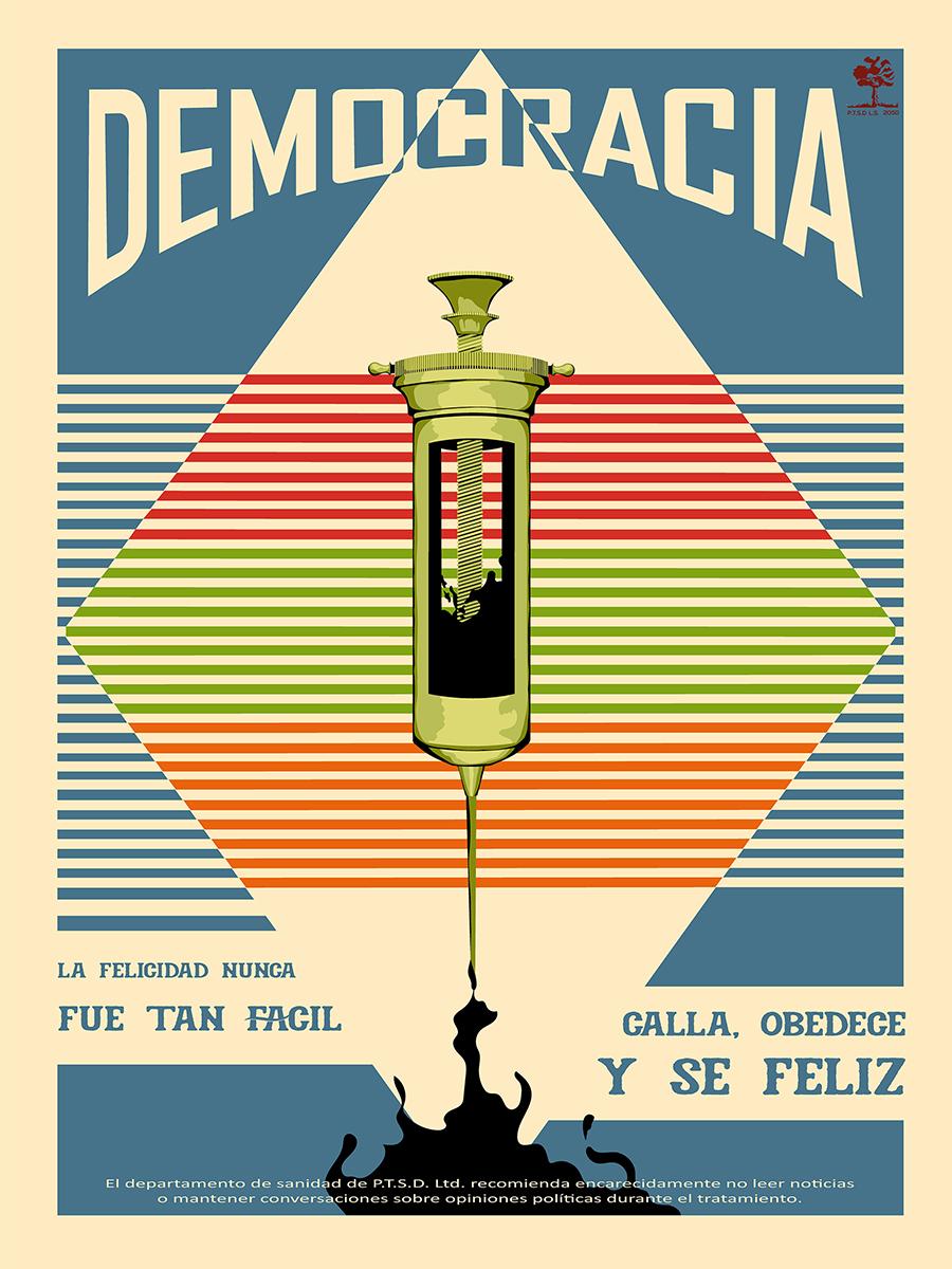 poster político
