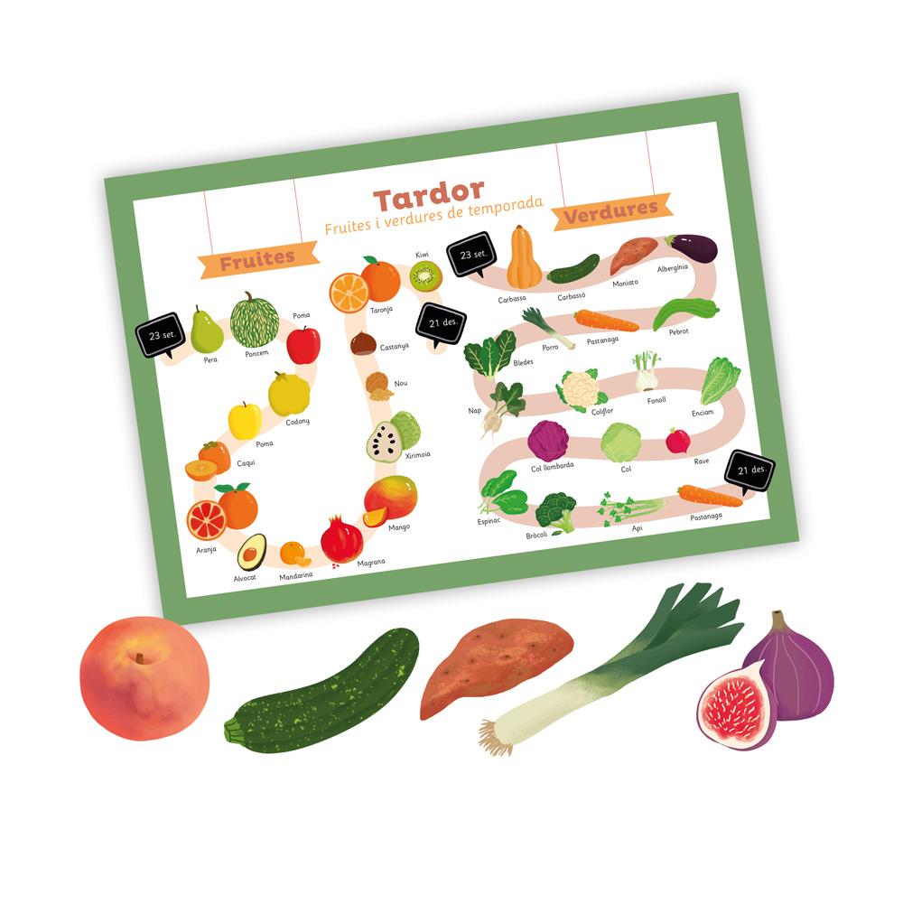 Castellnou-Fruites i verdures de temporada / Tardor
