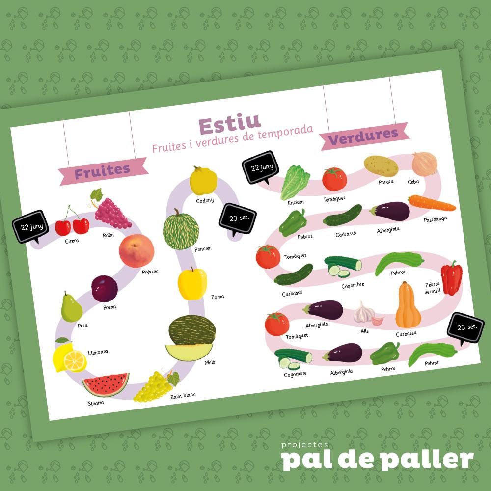 Castellnou-Fruites i verdures de temporada / Estiu