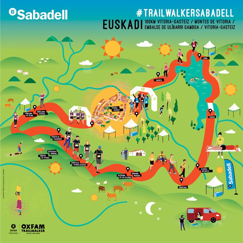 Oxfam Trailwalker Euskadi / Banc Sabadell